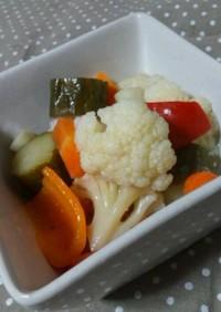 体内美人に♪彩り野菜のピクルス