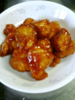 鶏むね肉の簡単中華風炒め♪