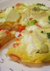 炊飯器で簡単!クリームチーズオムレツ