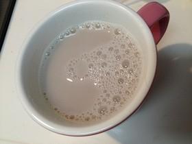 混ぜたら完成✿熱々豆乳あずき