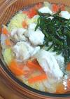 ニラで元気!白菜と鶏胸肉のとろりん鍋