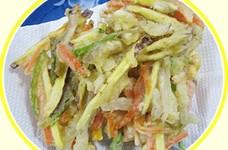 菊芋のかき揚げ