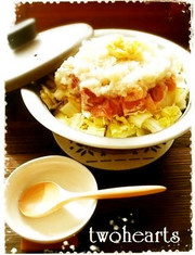 体ポカポカ☃鶏と白菜no大根みぞれ鍋風☃の写真