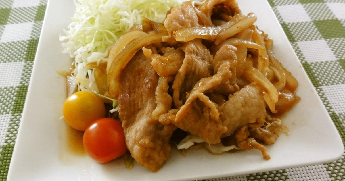 生姜 焼き肉 レシピ