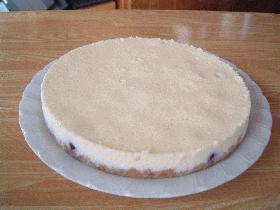 ホワイトベイクドチーズケーキ
