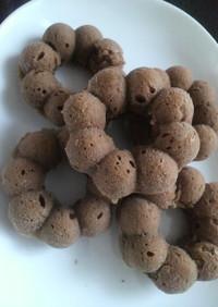 ココア焼きドーナツ