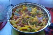 レチョー (ハンガリー風パプリカ料理)