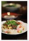 岩下の新生姜☆穴子ちらし寿司