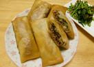 ☆合挽き肉と白菜の簡単春巻き☆