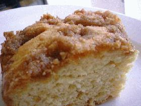 卵いらずのクラムケーキ