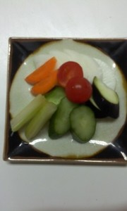 野菜のヨーグルト漬け(塩)の写真