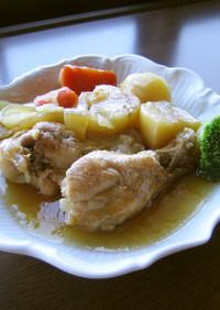 母の味*鶏手羽元のコンソメ煮