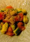 アボカドの中華風サラダ