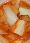 超簡単♪豆腐と白菜のピリ辛味噌チゲ