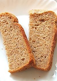 GOPANで酸味のあるライ麦50%パン
