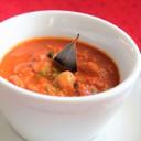 野菜ジュースで✿ひよこ豆のカレースープ