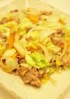 塩麹で柔らか☆豚バラ野菜炒め