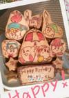 卵無し!星のカービィ誕生日ケーキ