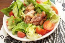 ガーリック醤油de塩麹チキンサラダ