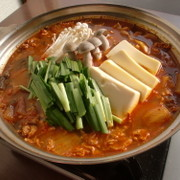 王道キムチチゲ☆キムチ鍋
