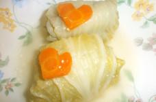 酒かす風味のロール白菜