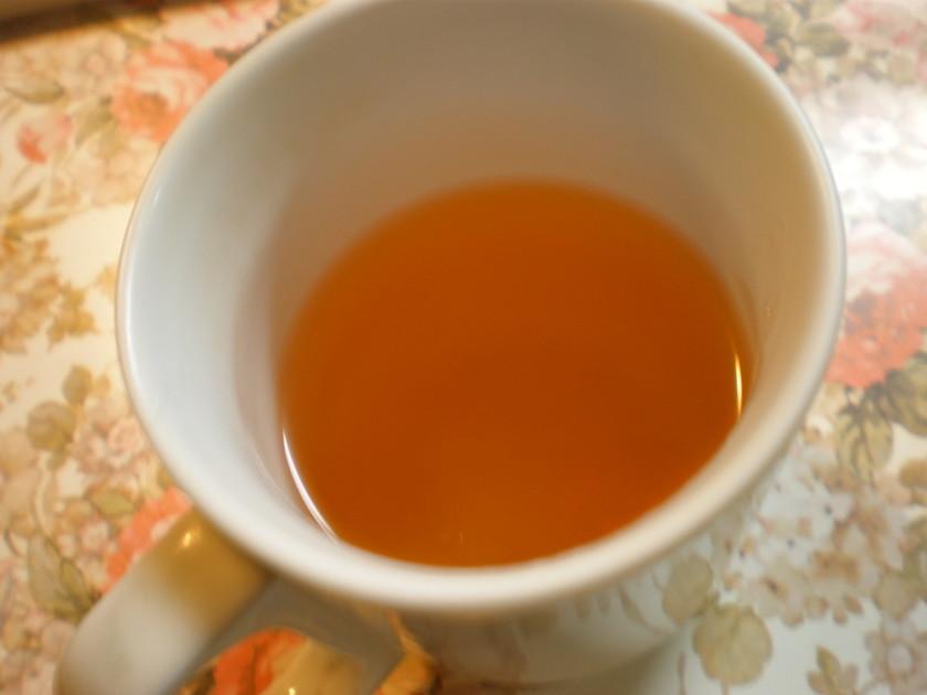 レンジで一人分の手軽な玉ねぎ茶