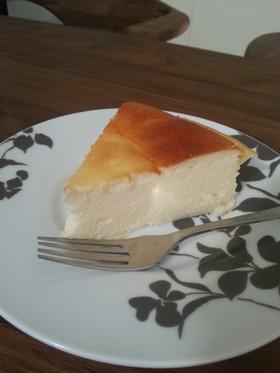 ヨーグルトでなんちゃってチーズケーキ♪