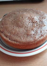 炊飯器とHMで簡単ケーキ