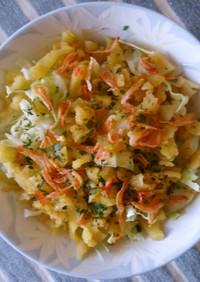 キャベツの天かすサラダ