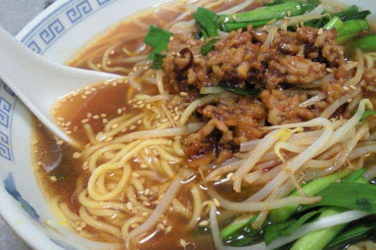 ラーメン レシピ 台湾