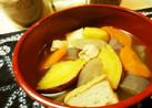 簡単☆さつま芋のけんちん汁