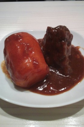 牛すね肉の煮込みシチュー