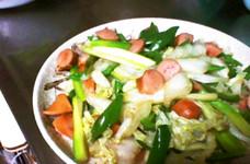 たっぷり白菜で☆野菜炒め