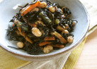 ひじきと大豆の炒め煮。