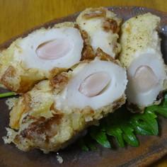 新生姜とちくわの天ぷら