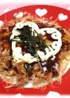節約♥ヘルシー♥豆腐ともやしのお好み焼き