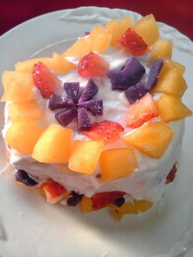 子供用☆簡単デコレーションケーキ
