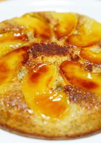フライパンdeHMアールグレイ林檎ケーキ
