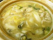 あったか牡蠣鍋の写真