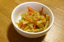 副菜に☆ジャガイモとキャベツの炒め煮
