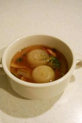 ペコロスのあったかスープ