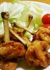 簡単♬鶏チューリップからあげ☺