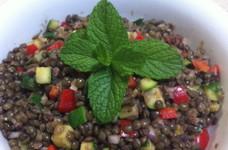 レンティル豆 サラダ