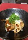 鶏ひき肉とレンコンの和風バーグ