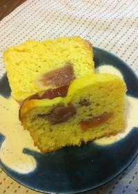 オーブン不使用でしっとりHM粉ケーキ