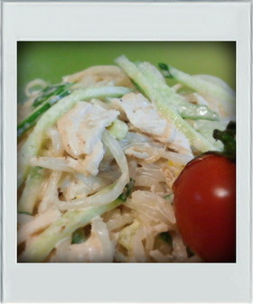 ■糖質制限■もやしささみ簡単棒々鶏サラダ