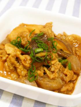 里芋と豚肉のこってり煮。