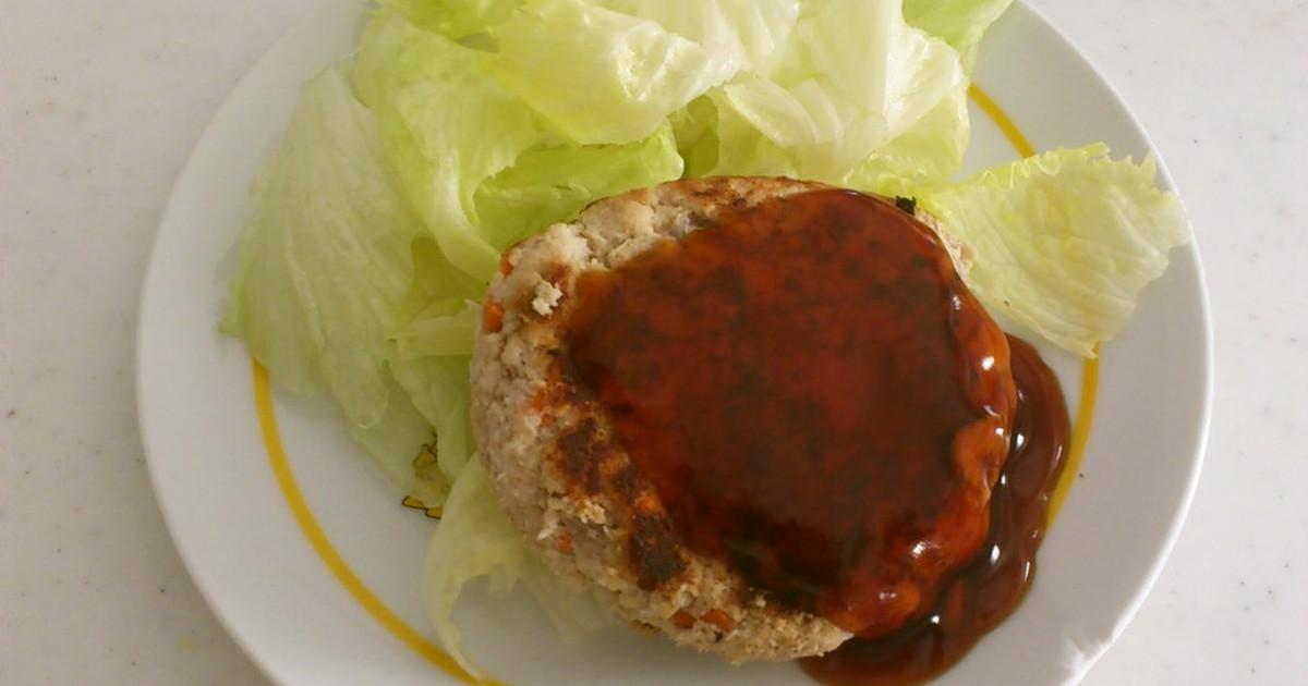 糖質制限ダイエット おからハンバーグ  by アリスの絵本