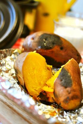 ストウブde:安納芋の美味しい焼き方☆