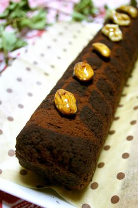 比較実験バターvsオイル☆チョコケーキ